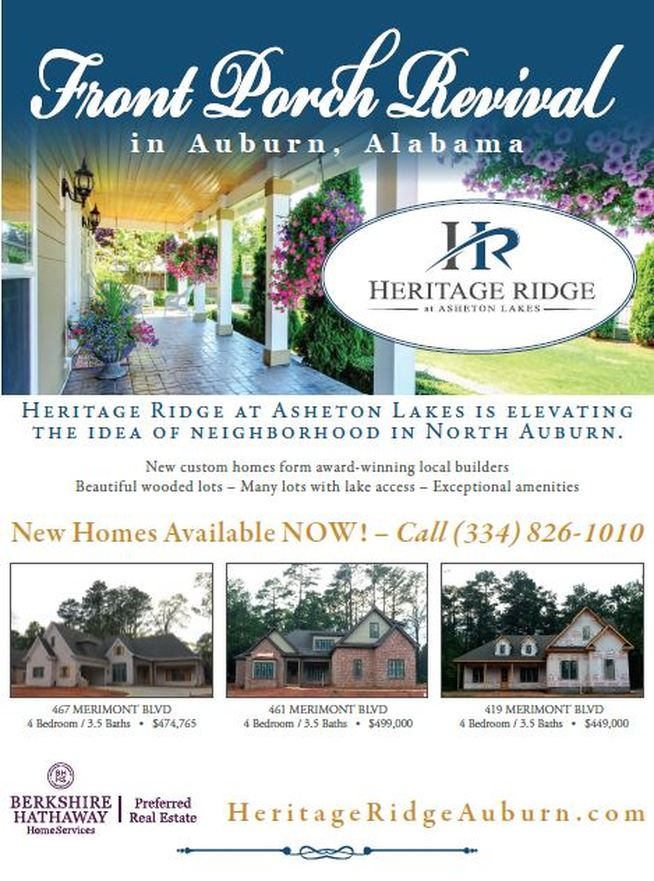 Asheton Lakes new homes (334) 826-1010